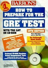 Barron's How to Prepare for the GRE Test: 14th Edition