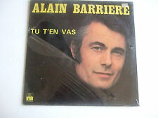 ALAIN BARRIERE Tu T'En Vas Ariola 89 415 OT New & still sealed Noëlle Cordier LP