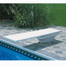 SR Smith Flyte Deck II Stand And 8' Fiber Swimming Pool Diving Board Combination