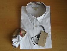 Burberry Brit Womens white Shirt Size XL