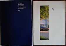 BMW 7 Series 1994 1995 UK Market prestige brochure pack - with 750iL folder E32