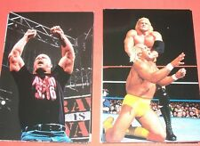 WWF Wrestle Mania Live    Complete Set      Photo Cards
