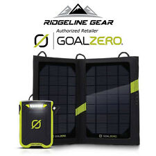 GOAL ZERO Venture 30 USB ReCharger w/Nomad 7 Solar Kit for Phones,Camera,GPS,+