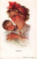 Boileau Artwork Postcard Baby Mine Mother Holding Her Baby~108429
