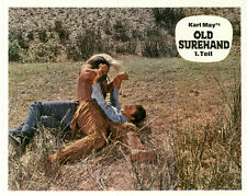 Old Surehand ORIGINAL Aushangfoto Pierre Brice / Stewart Granger / Karl May TOP