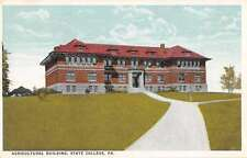 State College Pennsylvania Agricultural Building Antique Postcard J52780