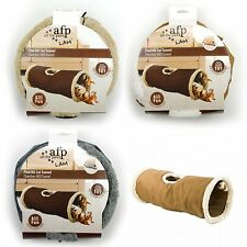 All For Paws AFP Lamb Find Me Cat Kitten Tunnel Toy Bed Game