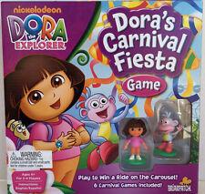 """Dora the Explorer """"Dora's Carnival Fiesta Game""""  New in Box ~ 6 GAMES INCLUDED"""