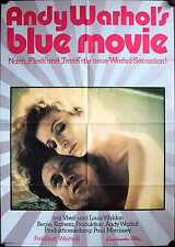 Andy Warhol's Blue Movie Filmposter A1 Viva, Louis Waldon Erotik Sickert
