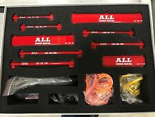 "121 pc Crane Rigging & Lifting Kit w/ Spreader Beams - ""ALL CRANE"" Red - 1/50"