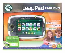 "LeapPad Platinum Green Learning Tablet System Leap Pad Leap Frog 7"" Screen NEW"