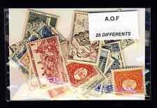 Afrique Occidentale Française - AOF 25 timbres différents