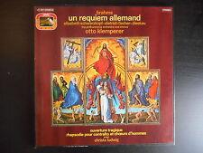 """Coffret 2 33 tours """"Brahms - Un réquiem allemand - Otto Klemperer"""""""