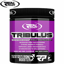 Real Tribulus 150Caps Testosterone Booster Libido Strength 150 Servings - DAYS !