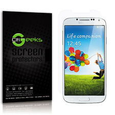 CitiGeeks® Samsung Galaxy S4 Screen Protector Anti-Glare Matte I9500 [3-Pack]