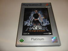 PlayStation 2  PS 2  Tomb Raider - The Angel of Darkness [Platinum]