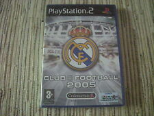 REAL MADRID CLUB FOOTBALL 2005 PLAYSTATION 2 PS 2 NUEVO Y PRECINTADO
