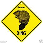 Beaver Crossing Xing Sign New