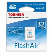 Toshiba Flash Air 32GB W-03 Class 10 Wireless Memory Card Wifi SD Card