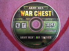 ARMY MEN: AIR TACTICS PC CD ROM 3DO 2002 DISC ONLY UNUSED War Chest Edition