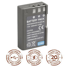 For NIKON EN-EL9 / EN-EL9A Camera Battery D40 D60 D40X D3X D3000 D5000 1200mAh