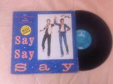 "MICHAEL JACKSON & PAUL MC CARTNEY. MAXI 12 "" MADE IN SPAIN 1983. 3 TRACKS."