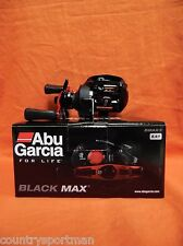 ABU GARCIA Black Max Low Profile Baitcast Reel 6.4:1 Ratio #1365366 (BMAX3) RH