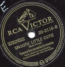 Frank Sinatra + Tommy Dorsey  Orchester: Snootie little Cutie