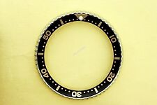 NEW SEIKO BEZEL W/ BLACK GOLD INSERT 6309, 6406, 7002, 7548 WATCH NR#128