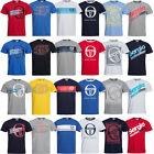 Sergio Tacchini Herren Classic T-Shirt S M L XL 2XL Sport Freizeit Tee Top neu