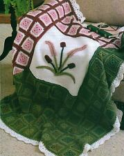 TWILIGHT LAGOON AFGHAN CROCHET PATTERN INSTRUCTIONS ONLY