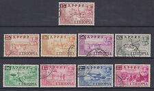 Ethiopia - SG 435/43 - f/u - 1952 - Federation Celebration