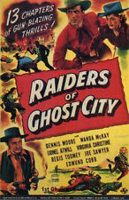 Raiders of Ghost City - Classic Movie Cliffhanger Serial  DVD Dennis Moore