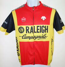 Raleigh Campagnolo Cycling Jersey Mens M Descente 2011 b20