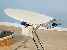 WIDE TOP IRONING BOARD Cover & Pad Natural 48 - 49 x 18 ** FREE PRESSING PAD **