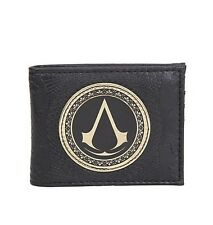Assassins Creed Syndicate Logo Bifold Wallet Very Rare HTF New With Tags!