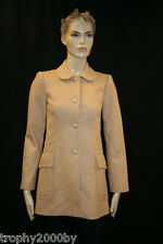 NEW JUICY COUTURE $397 CAMEL DARLING WOOL BLEND COAT SZ S SMALL