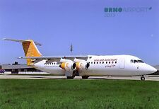 Malmo Aviation BAE Systems Avro 146-RJ100 SE-DSR at Brno 2013  Postcard