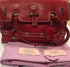 Luella Satchel Bag Bright Red Good Used Condition
