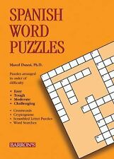 Spanish Word Puzzles Foreign Language Word Puzzles)