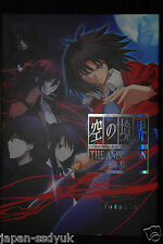 JAPAN Kara no Kyoukai the Garden of sinners The Animation Art Book