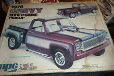 MPC 1978 CHEVY PICKUP STEPSIDE 1/25 Model Car Mountain OPEN