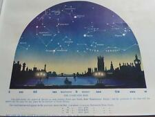 1923 MAY STARS Constellations Astronomy Cityscape Westminster Bridge London