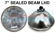 "7"" GENUINE SEALED BEAM HEADLIGHT HEADLAMP UNIT FOR CLASSIC CAR SB7014 LHD EURO"