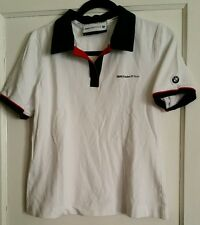 BMW Sauber F1 Team Women's Polo Shirt Rare Sz Large racing EUC