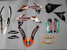 KTM SX85 2013-2017 JDR JSTAR racing team graphiken kit aufkleber EJ2025
