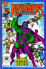 AVENGERS # 267  Marvel 1986 (fn+-vf)Signed on Indicia Page by Writer Roger Stern