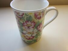 Roy Kirkham Design Fine Bone China Floral Mug Made in England