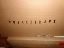 Pottery Barn STACKED CRYSTAL CHANDELIER-NEW IN BOX ~HARD TO FIND