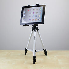 """50"""" Panoramic Rotate Tripod with Holder Mount for Tablet from 6.75"""" to 8.5"""" wide"""